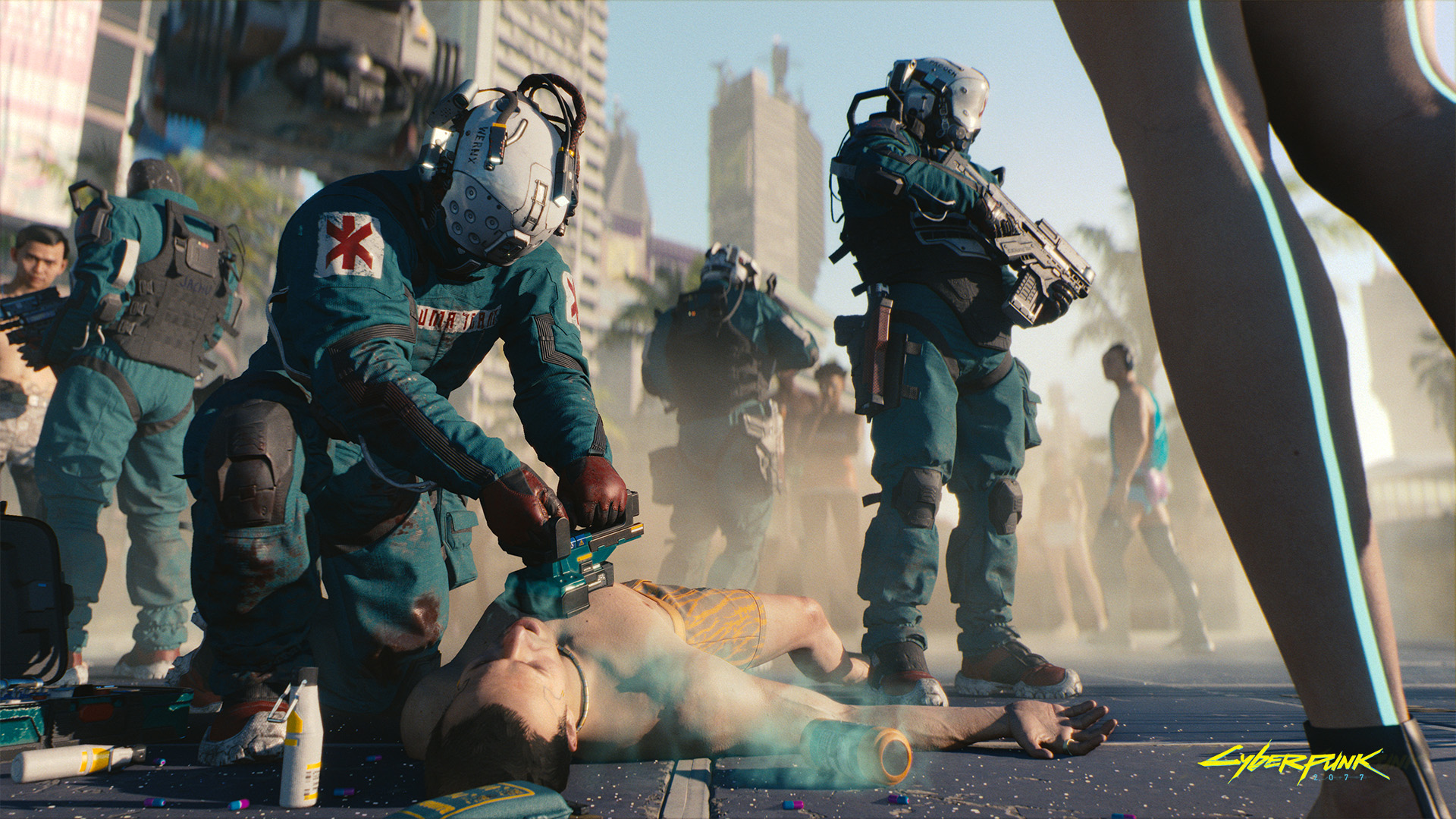 Cyberpunk 2077 Trauma-Team